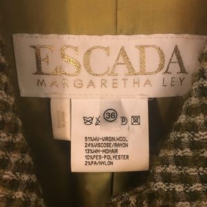 Escada Jackets & Coats - Escada tweed jacket